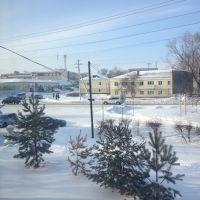 типография вид с окна, Калачинск