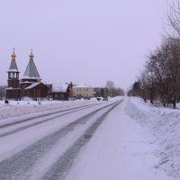 Крутинка, улица Ленина,Святоильинский храм., Крутинка
