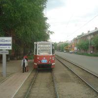 Ulitsa Serova Tram tracks, Любинский