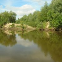 Муромцево, река Тара, Муромцево