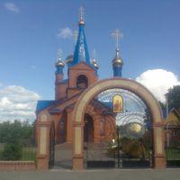Церковь в честь Тихвинской иконы Божией Матери, Муромцево