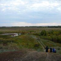 Берег реки, Нижняя Омка