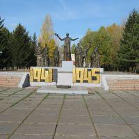 Мемориал славы, Нижняя Омка