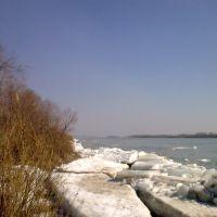 ледоход на Иртыше, Нововаршавка