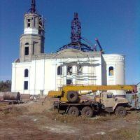 Строящаяся церковь, Одесское