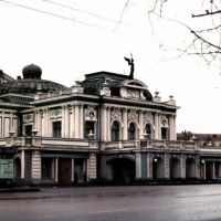 Omsk theater 03/1991, Омск