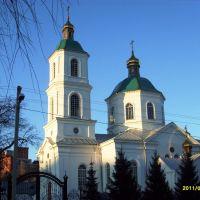 Церковь на Тарской. Кресто-Воздвиженский кафедральный собор. Россия, Омск, Омск