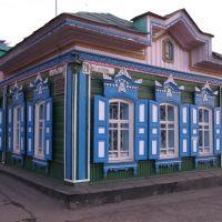 Омск деревянный. Улица Гусарова, Омск