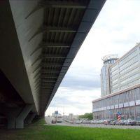 Метро-мост. Взгляд пешехода., Омск