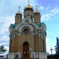 Храм Иоанна Крестителя. Россия, Омск, Омск