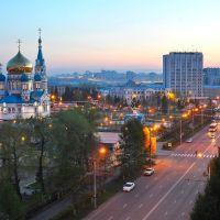 Вечерний Омск, Омск