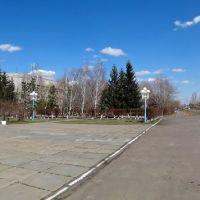 Площадь перед администрацией, Таврическое