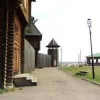 Рубленая крепость от Кучума, Тара