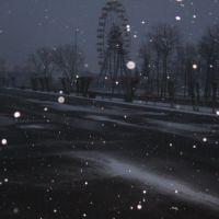 снегопад, Тюкалинск