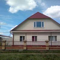 дом отделан сайтингом - смотрится красиво, Тюкалинск
