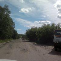 грунтовка из города, Тюкалинск