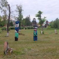 деревянные фигуры, Тюкалинск