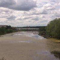 мостки на речке, Тюкалинск
