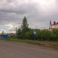 """дорожный знак """"Лежачий полицейский"""", Тюкалинск"""