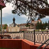 На центральной площади Бугуруслана, Бугуруслан