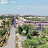 город Гай,вид на площадь ( 2009г.), Гай