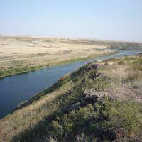 Река Урал у Тереклы, Ириклинский