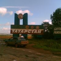 Orenburg region - Tatarstan border, Матвеевка
