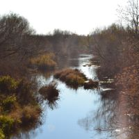 Река Садак в южном направлении, Матвеевка