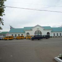 вокзал Медногорска. Mednogorsk railway station., Медногорск