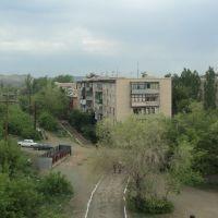 ул. Комсомольская (вид с моста)., Медногорск