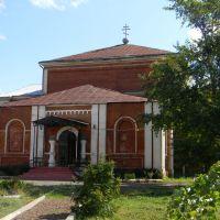 Церковь в селе Октябрьское, Октябрьское