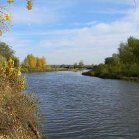 Река Юшатырь. Мост., Октябрьское