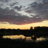 Закат на Урале, Оренбург