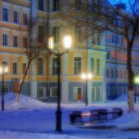 Начало улицы Советской (Губернской, Николаевской)., Оренбург