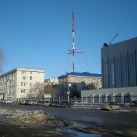 Вид на телевышку, Оренбург
