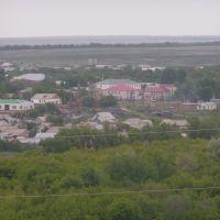 Вид от ТВ вышки на Первомайский, Первомайский