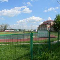 Стадион в Пономарёвке., Пономаревка