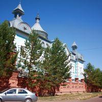 Саракташ. Духовное училище, с улицы Пушкина., Саракташ