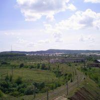 Тюльган, окружающие ландшафты, Тюльган