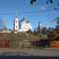 Спасо-преображенский собор-19век и Троицкая церковь-17век, Болхов