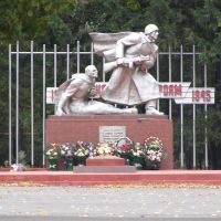 памятник (monument defenders Glazunovka), Глазуновка