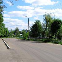 Возле школы в Глазуновке (Near schools Glazunovka), Глазуновка