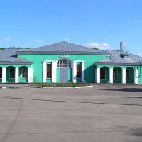 Глазуновский вокзал. Вид сзади (Glazunovskaja station. Back view), Глазуновка