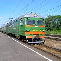 ЭР2-1304 Орёл-Курск на станции Глазуновка (ЭР2-1304 Orel-Kursk station Glazunovka), Глазуновка