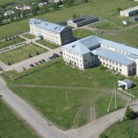 Больница вид из вертолёта, Долгое