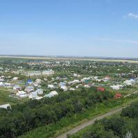 Общий вид посёлка с Юго-востока, Долгое
