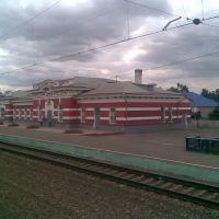 Вокзал, ст.Змиевка - вид с севера, Змиевка
