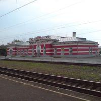 Вокзал, ст.Змиевка - вид с платформы №2, Змиевка