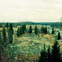 панорама городка. вид на юг, Знаменское