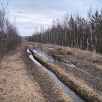 Дорога на полигон, Знаменское